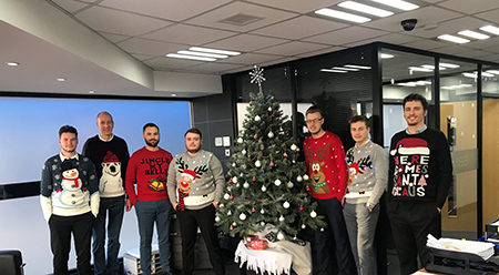 our Christmas jumper day